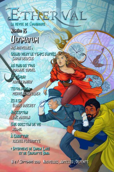 Couverture de la revue Etherval numéro 15